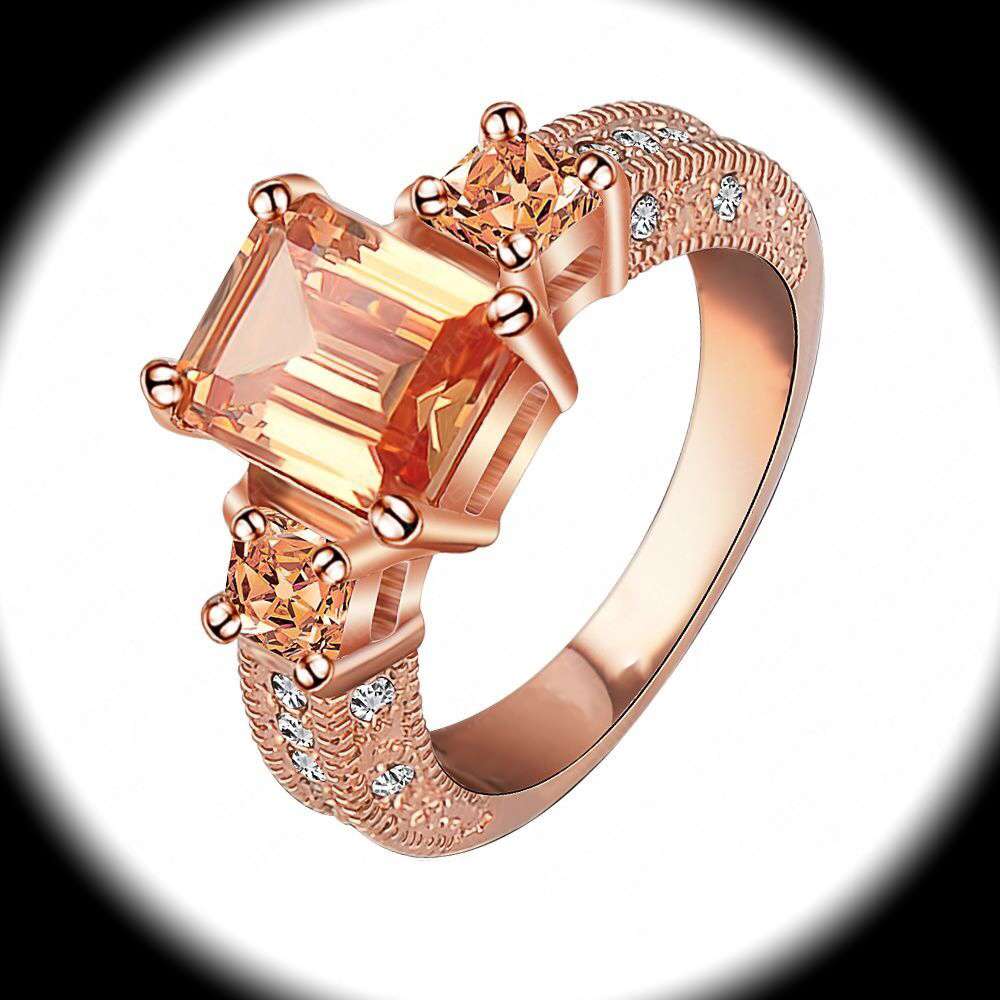 Rose Gold Size  Rings